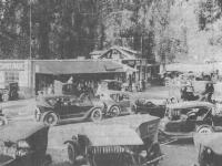 Cook's Garage in Troutdale, Oregon belonged to James Lester Cook (1890-1970). His wife Ethel Smith knew rotors and radiators as well as bookkeeping. Karen Cook Hubbard Collection
