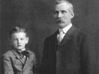 Harry Graham Cooke (1898-1917) and Charles Herbert Cooke (1869-1926) Economy, NS and Belgium. Rachel Cooke Wilson Collection