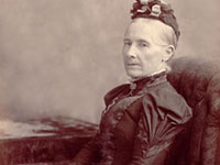 Lucy Merson Cook (1826-1915) of Gays River, NS. <i>Ian McQuinn Collection</i>